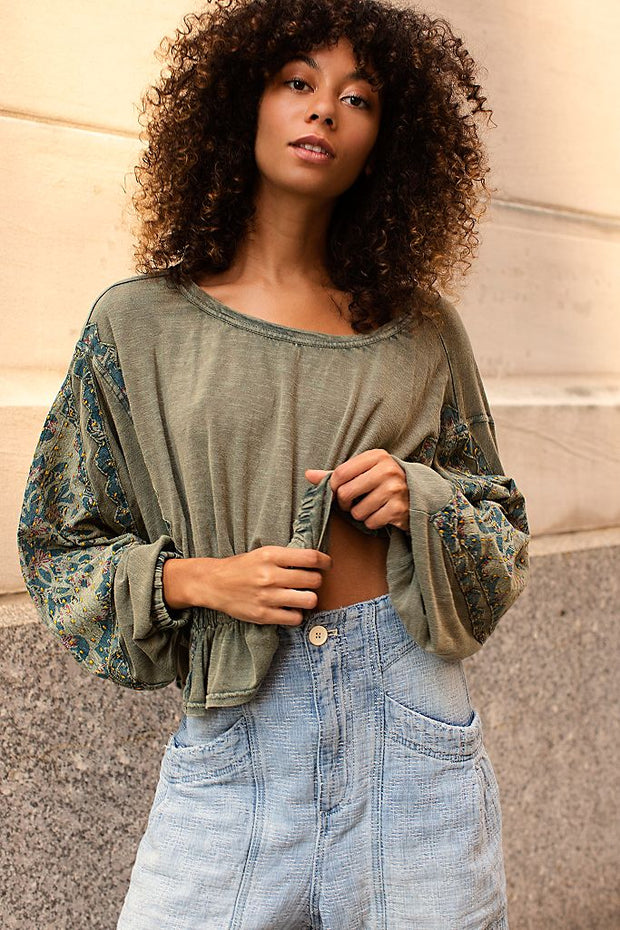 Free People Throwback Top