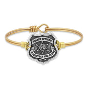 Luca and Danni Police Bangle Bracelet