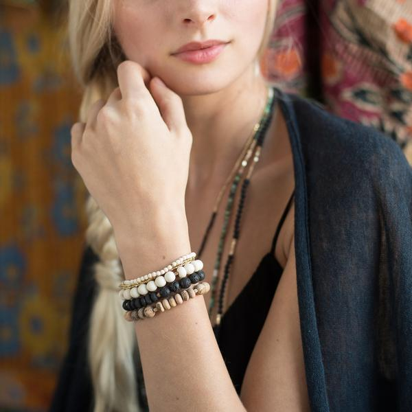 Scout Curated Wears Stone Bracelet - Lapis