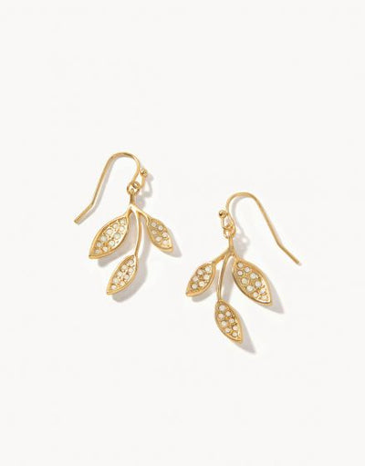 West Bluff Leaf Earrings