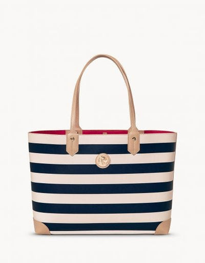 Tote Bag Navy Stripe
