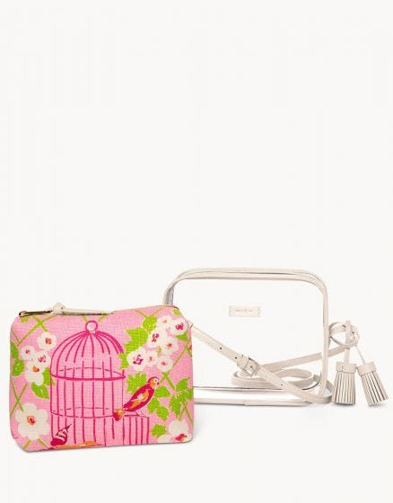 Wilson Clarissa Stadium Clear Crossbody