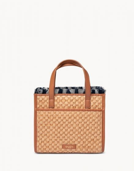 Dune Woven Satchel Ashley River