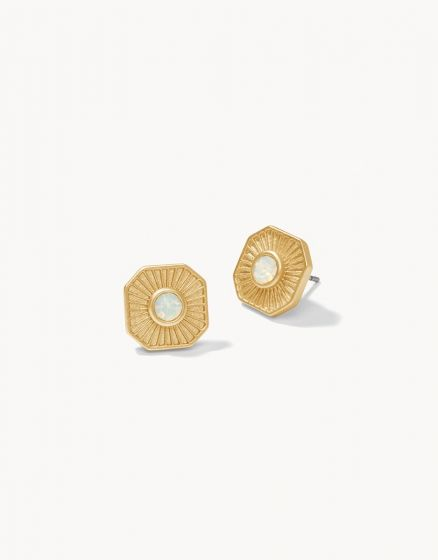 Radiant Window Stud Earrings