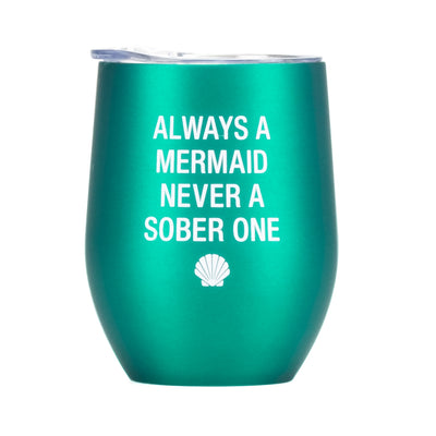 Mermaid Thermal Wine Tumbler