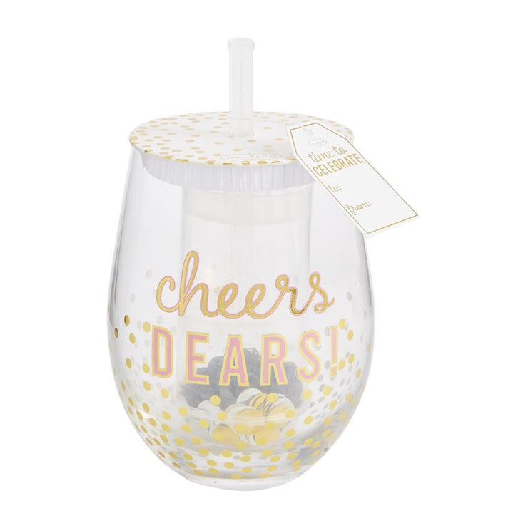 Confetti Wine Glass Set