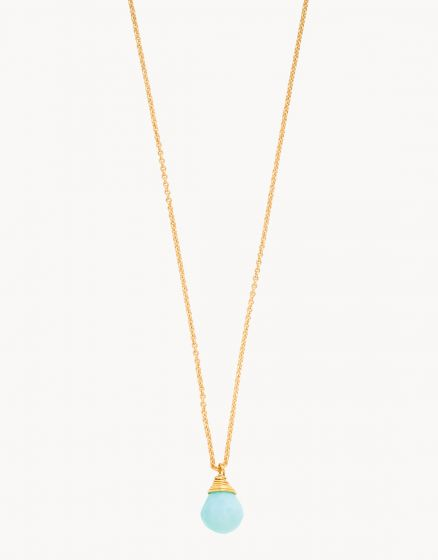 Relax Crystal Drop Necklace