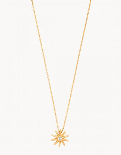 Bask In The Sun Starburst Necklace