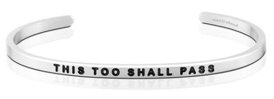 This Too Shall Pass MantraBand