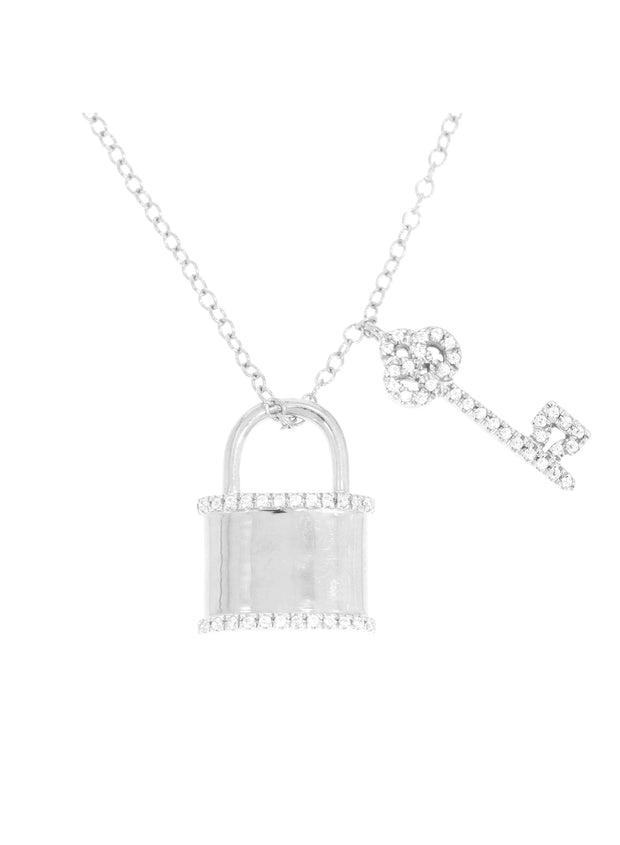 You Hold the Key to My Heart Necklace