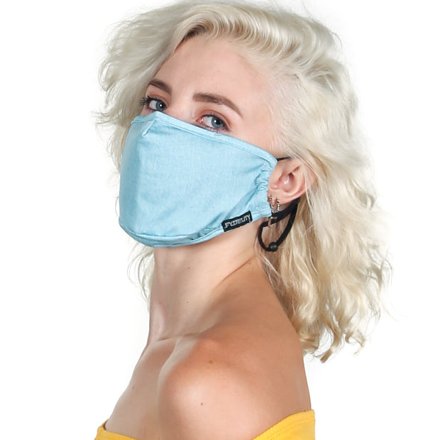 Fydelity Washed Denim Face Mask