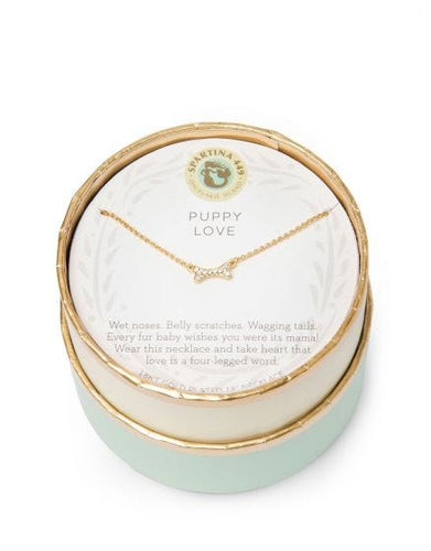Spartina 449 Sea La Vie Puppy Love/Bone Necklace