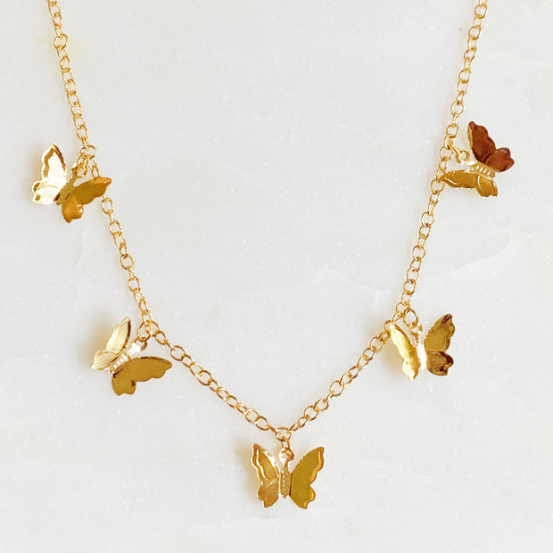 Butterfly Colony Necklace