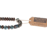 Scout Curated Wears Stone Bracelet - Blue Sky Jasper
