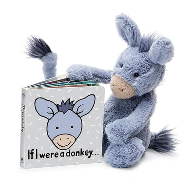 Jellycat If I Were A Donkey Book