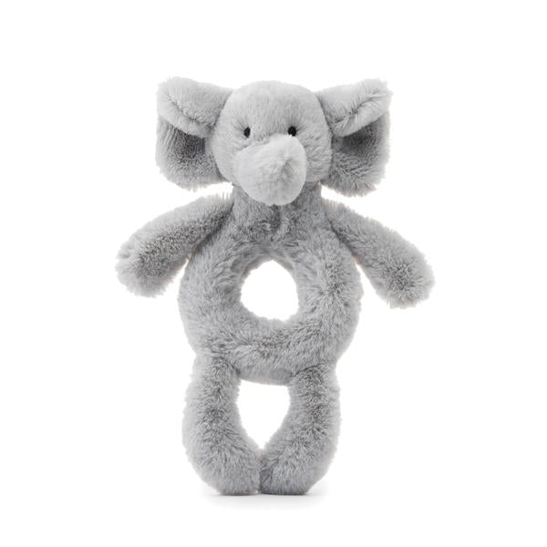 Jellycat Elephant Soft Ring Rattle