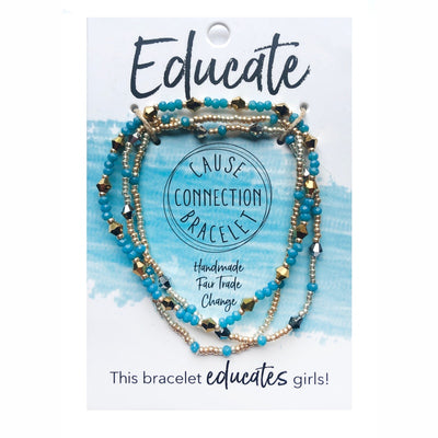 Cause Connection Educate Bracelet