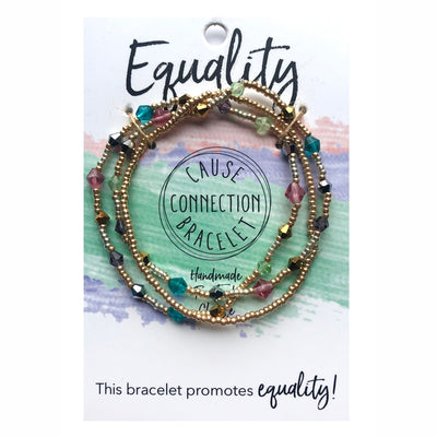 Cause Connection Equality Bracelet