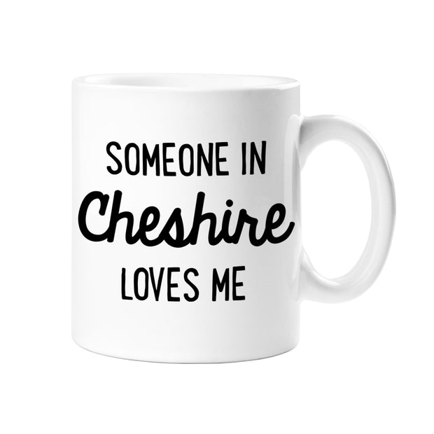 Cheshire Loves Me Mug