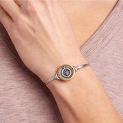 Luca and Danni New Compass Bangle Bracelet