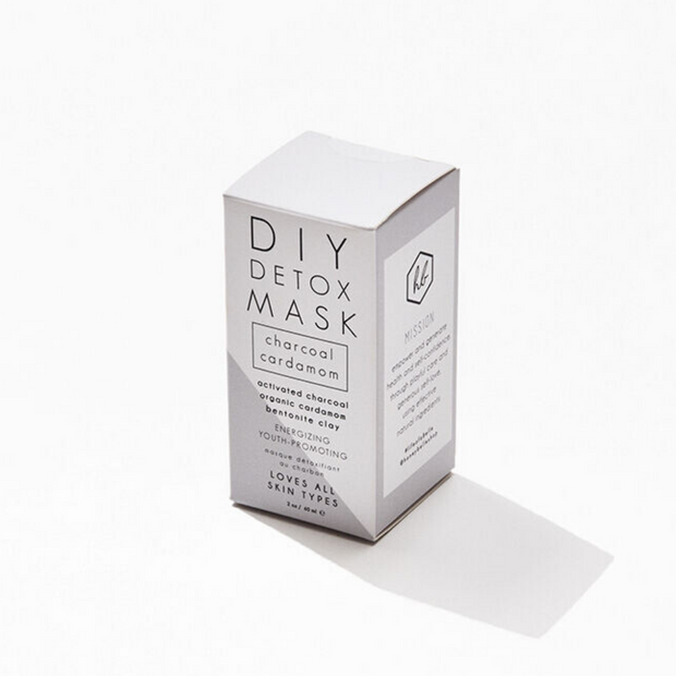 Honey Belle Charcoal Cardamom Detox Mask