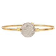 Luca and Danni Divine Dime Bangle Bracelet