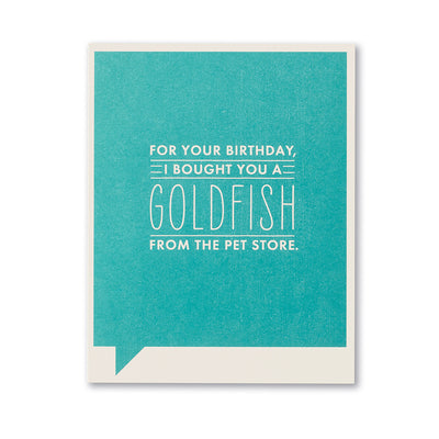 """For Your Birthday I Bought You"" Funny Birthday Card"