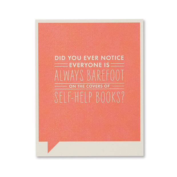 """Did You Ever Notice"" Just for Laughs Card"