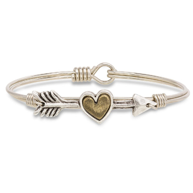Luca and Danni Follow Your Heart Bangle Bracelet