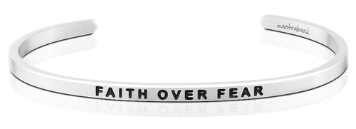 Faith Over Fear MantraBand