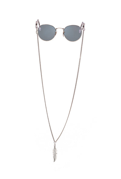 Feather Drop Mask / Sunglass Chain