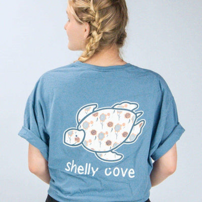 Summer Breeze Blue Short Sleeve Tee