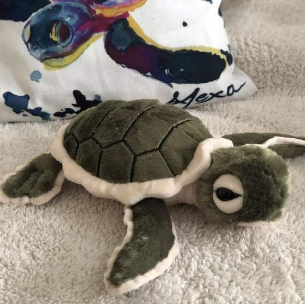 Baby Shelly Plush Sea Turtle