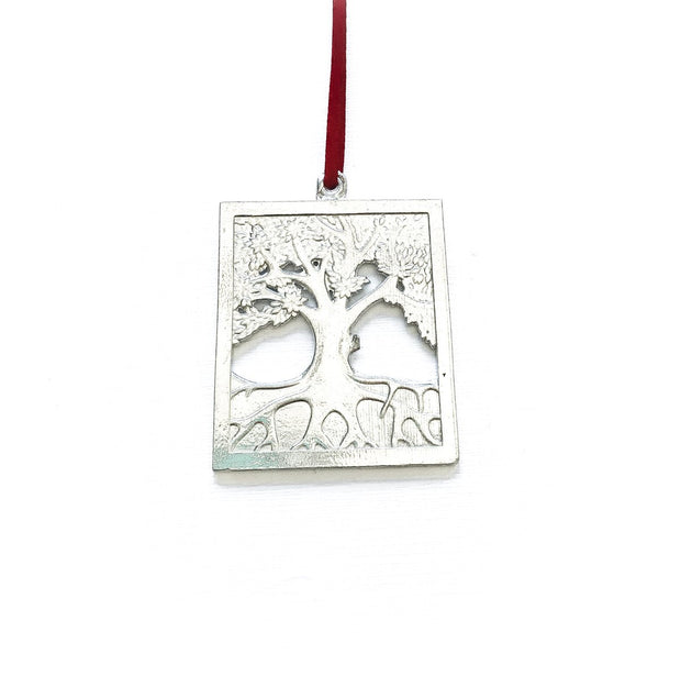 Handmade Family Tree of Life Christmas Ornament
