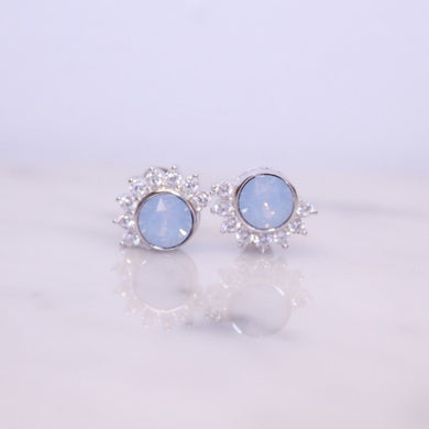 Lois Blue Stud Earrings