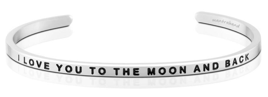 I Love You To The Moon And Back MantraBand