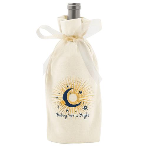Holiday Wine Bag Celestial