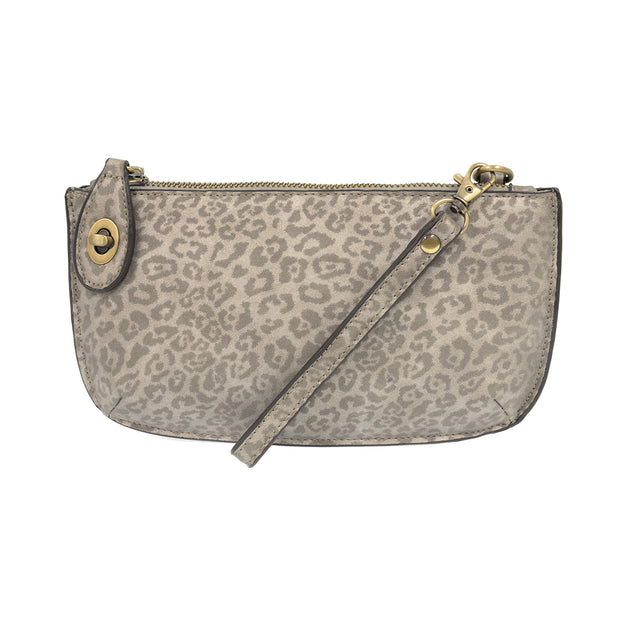 Leopard Mini Crossbody Wristlet