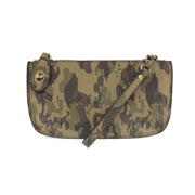 Camo Mini Crossbody Wristlet