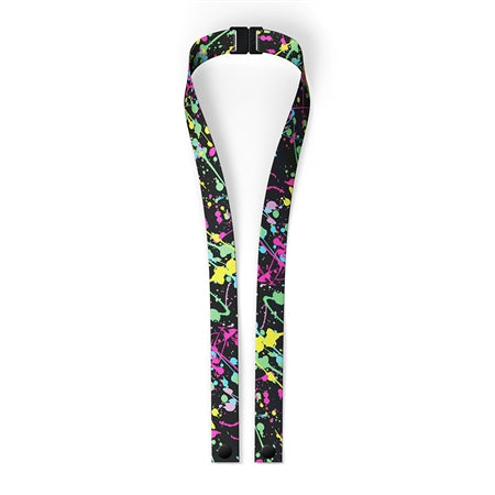 Pattern Kids Mask Lanyard with Safety Breakway Clasp
