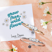 Luca and Danni Daisies Bangle Bracelet