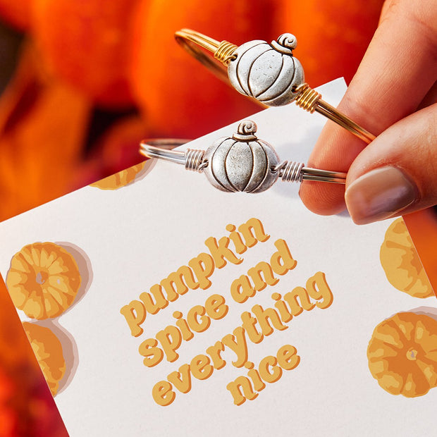 Pumpkin Bangle Bracelet
