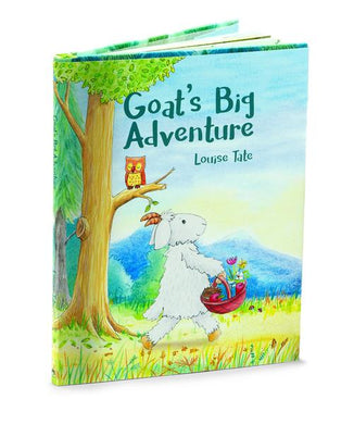 Jellycat Goat's Big Adventure Book