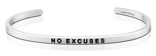 No Excuses MantraBand