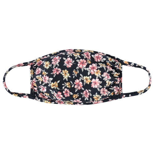 Floral Fabric Kids Mask