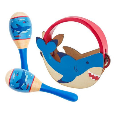 Shark Percussion Set