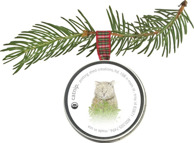 Holiday Pet Ornament Catnip