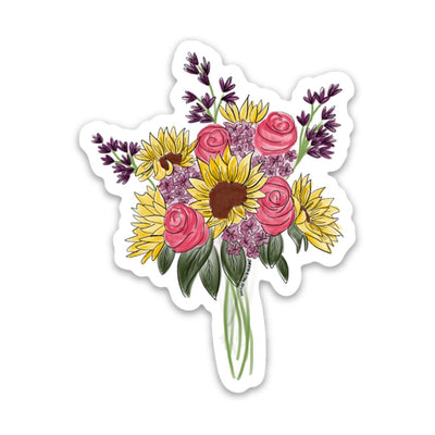 Floral Bundle 1 Vinyl Sticker