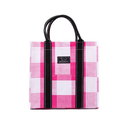 Pink Check Totes-Ma-Goat Bag