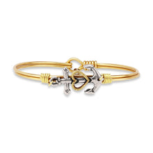 Luca and Danni Anchor Bangle Bracelet